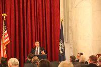 Bruce Braley Speaking to DM Partnership DC Trip