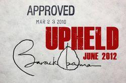 Obama Upheld