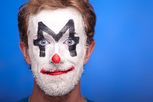 Man Clown Make Up