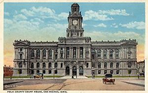 Polk County Courthouse Vintage