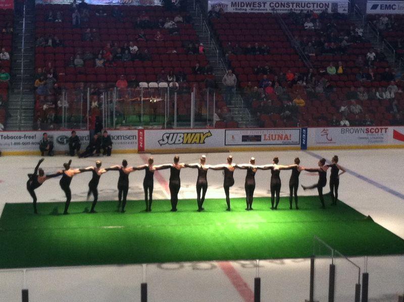 Iowa Wild HS Dance Team