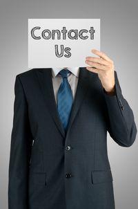 Contact Us Man