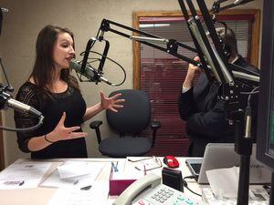 Katie Kuntz Talking 19 Nov 2014