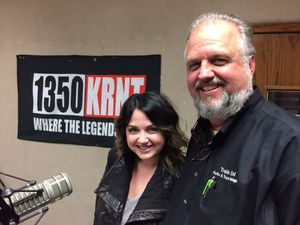 Mike Swift and Mallory KRNT 12 Feb 2015