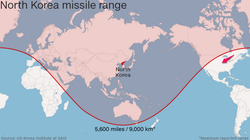 North Korea Rocket Range Feb 2016