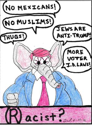 Tim Lloyd 12 2016 June Racist