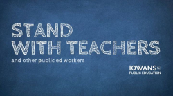 Iowans for Public Education Logo