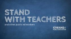 Iowans for Public Education Logo