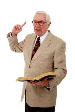 Man Bible preacher