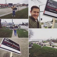 Zac Election Day Signs