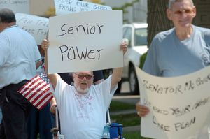 Elderly-Protesters