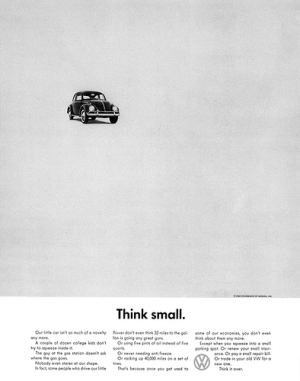 Think Small Ad