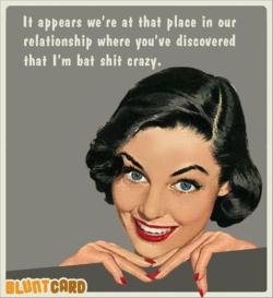 Woman Crazy Mime