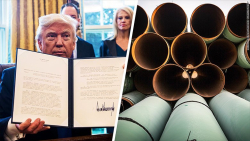 Trump Order Steel Pipeline CNN