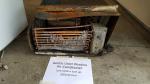 Air Conditioner burn up