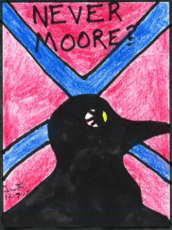 Tim Lloyd 10 December Roy Moore Crow