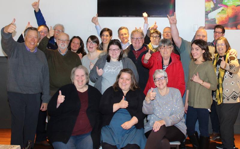 Polk County Dems Social Media Event Jan 2018