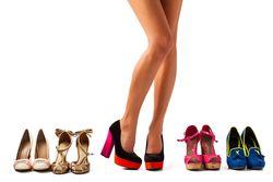 Woman Shoe Choice