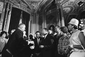 President Johnson MLK