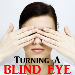 Woman Blind Eye