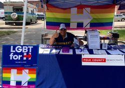 MPL Polk County Dems Pride Fest 2016