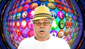 Man Older Social Media