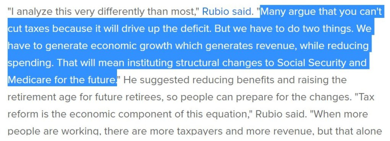 Rubio Quote Medicare Social Security Dec 2017