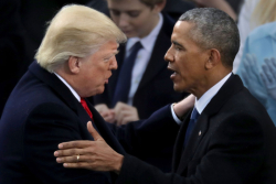 Obama Trump Inaguration Image