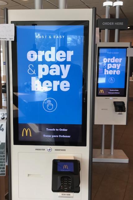 McDonalds Kiosk April 2018