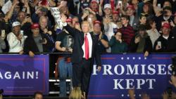 Trump Rally Michigan April 2018