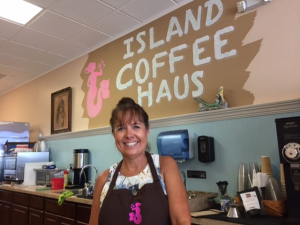 Bev Lesick Island Coffee Haus May 2017