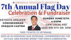 Urbandale Flag Day 2018