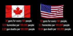 Canadian Guns American Guns