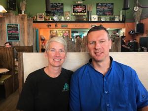 Angie Scott Taylor Lanesboro Cafe Pedal Pushers 21 Sept 2018