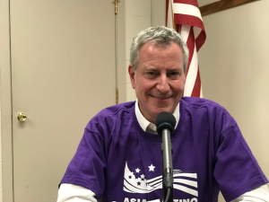 Bill de Blasio IOB 24 Feb 2019
