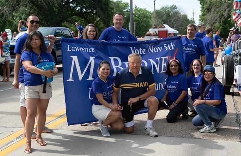 Larry McBurney Parade July 2019