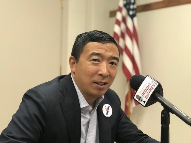 Andrew Yang July 2019