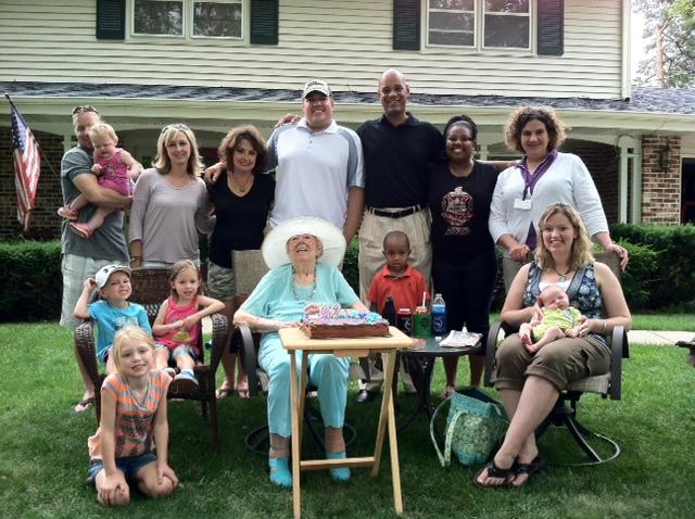 Mom Birthday Party June 2012