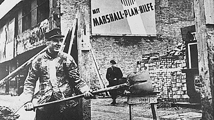 Marshall Plan Vintage Image