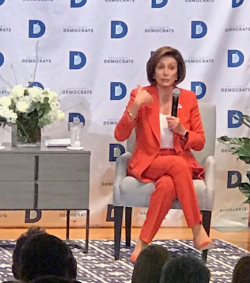 Nancy Pelosi DSM 26 Oct 2019