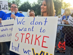 Teachers Strike Image