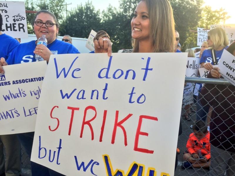 Teachers Strike Image