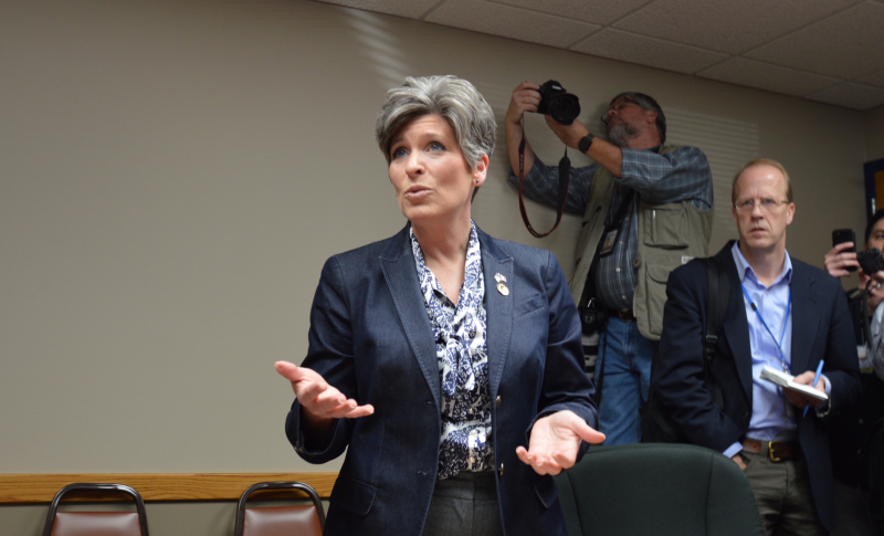 Joni Ernst Iowa Starting Line