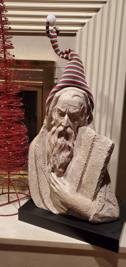Moses Christmas Decor