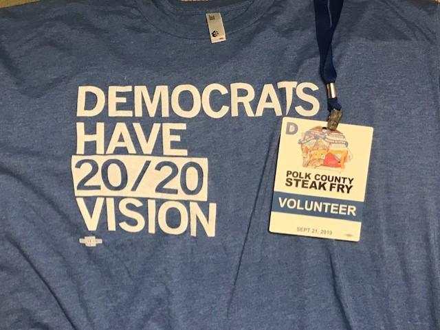 2020 Vision Steak Fry Volunteer Sept 2019