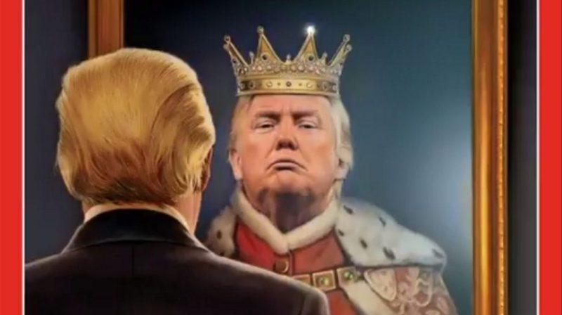 Trump King Image