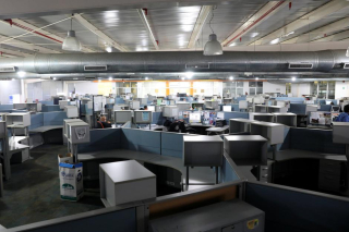 Newsroom Empty