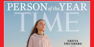 Greta Thunberg Time Cover