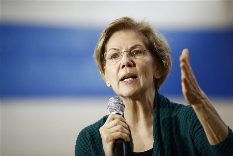 Elizabeth Warren DMR Endorsement Jan 2020