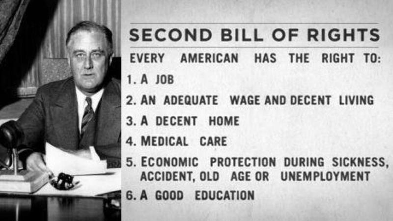 FDR Second Bill of Rights